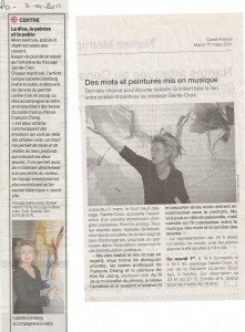 Presse Océan 7-01-2011 Ouest-France 1er-03-2011