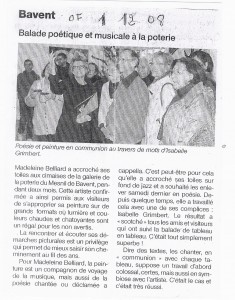 Ouest-France 1/12/2008