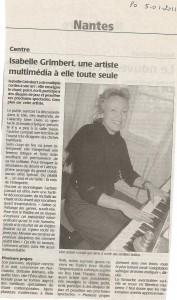 Presse-Océan 5 janvier 2011
