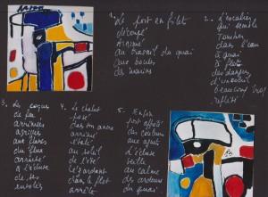 Livre de l'exposition - poèmes d'Isabelle Grimbert